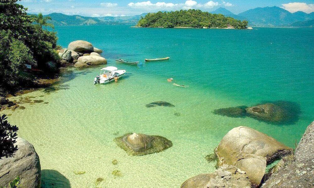 Ilha Sapeca em Paraty - RJ