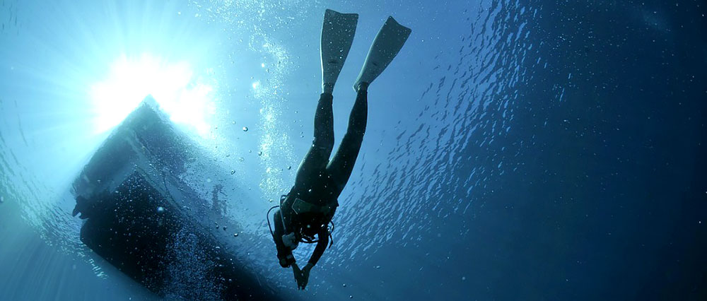 Mergulho na Ilha deserta em Paraty