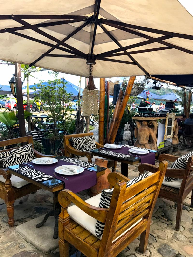 Restaurante Refúgio em Paraty - RJ