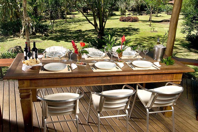 Villa Verde restaurante em Paraty - RJ