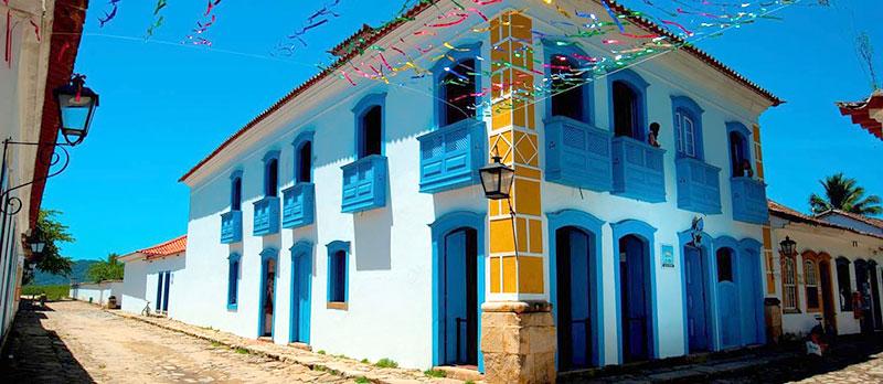 Casa da Cultura em Paraty - RJ