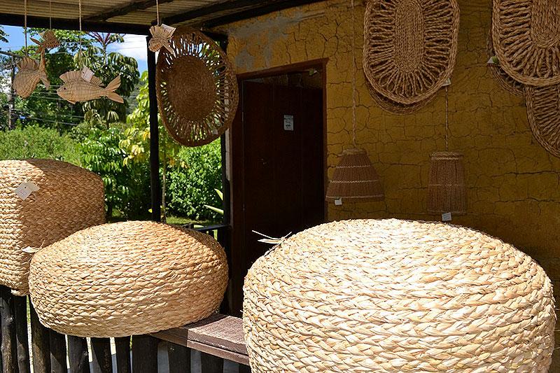 Cestas: artesanato em Paraty - RJ