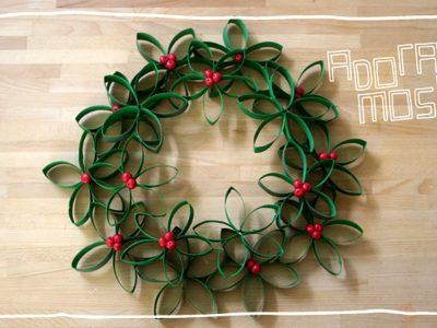 Guirlanda de Natal - Flores