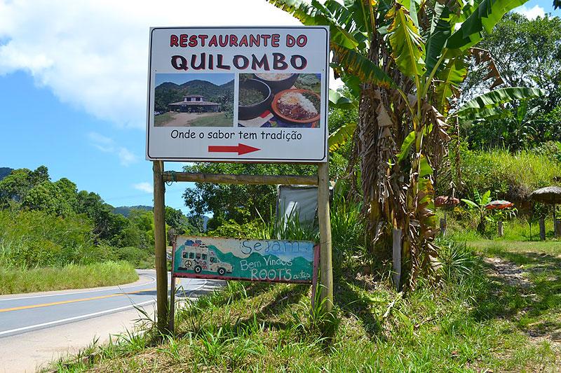 Restaurante do Quilombo em Paraty - RJ