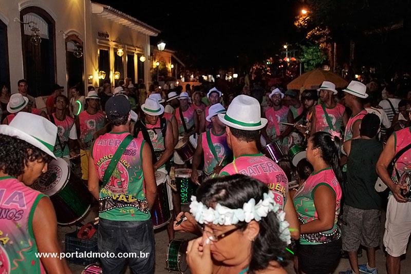 Bloco da Mangueira - Carnaval em Paraty