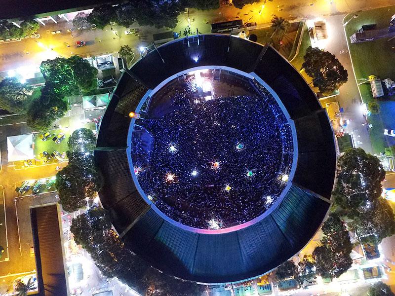 Arena de Shows - ExpoParanavaí 20118