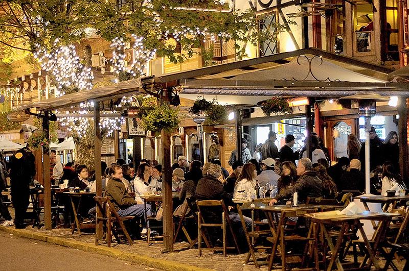 Bar Baden Baden no Capivari - Campos do Jordão