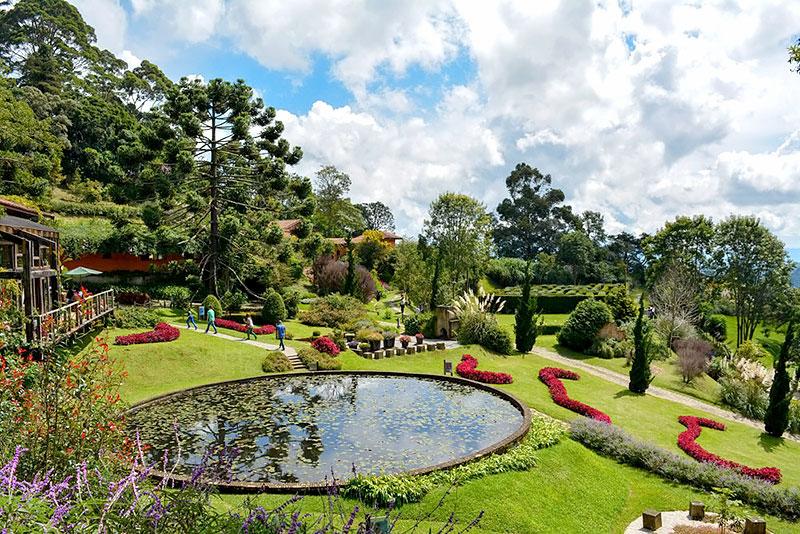 Jardim - Parque Amantikir - Campos do Jordão - SP