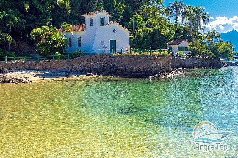 Igreja da Piedade na Ilha da Gipoia
