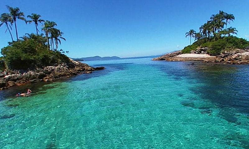 Ilhas Gêmeas em Angra dos Reis - RJ