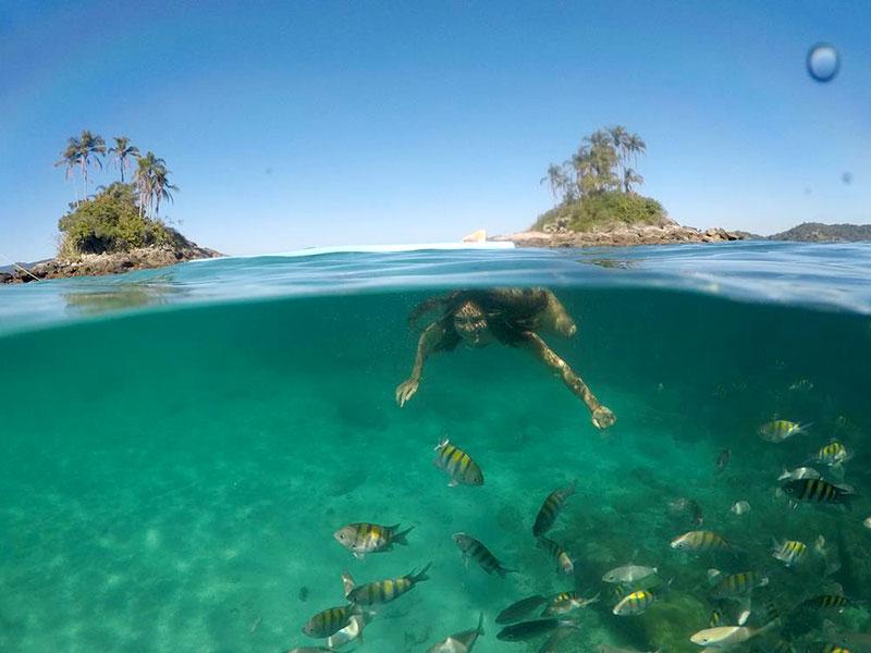 Mergulho nas Ilhas Botinas, Irmãs - Angra dos Reis - RJ