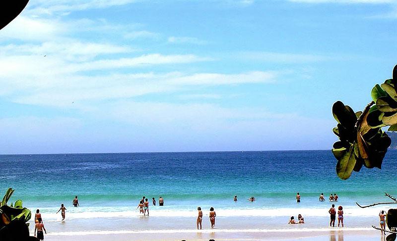 Praia de Lopes Mendes na Ilha Grande