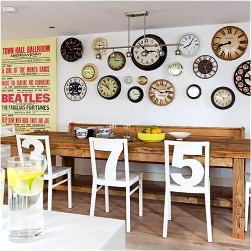 Relógio de Parede para área de churrasqueira