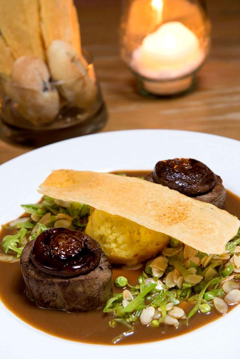 Gastronomia dos restaurantes em Paraty