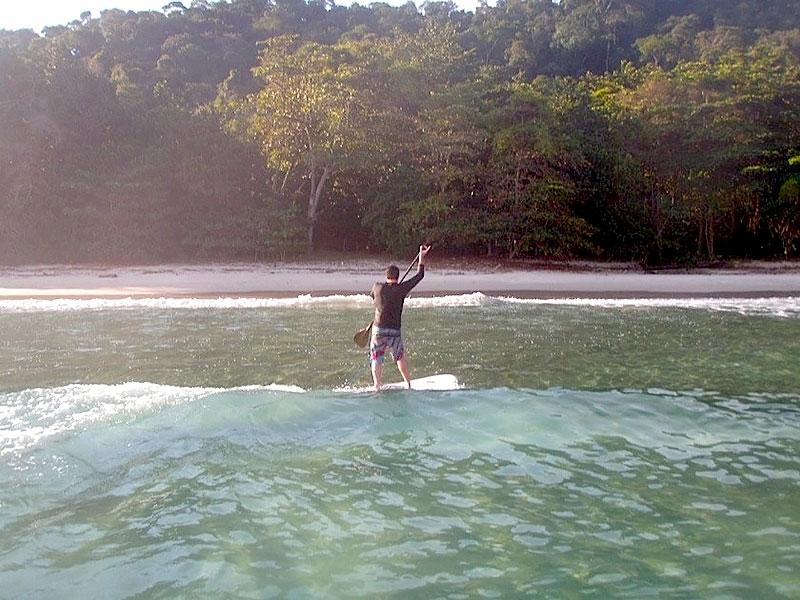 Stand Up Paddle na Ilha da Gipoia