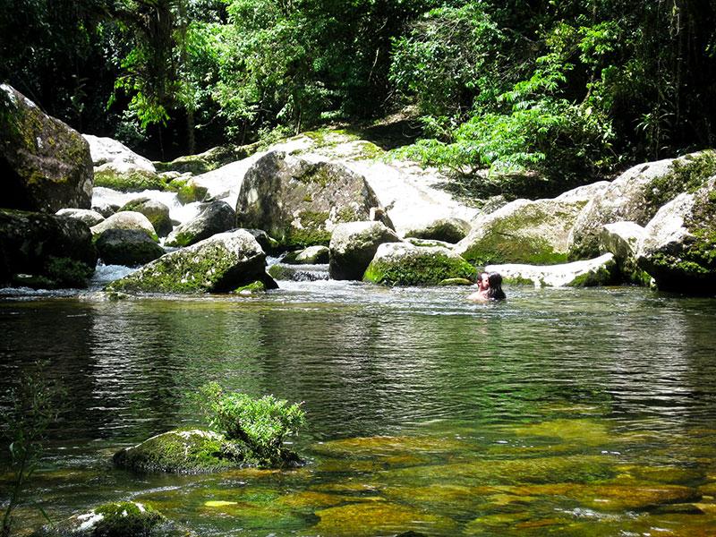 Cachoeira do Areado - Praia do Bonete em Ilhabela