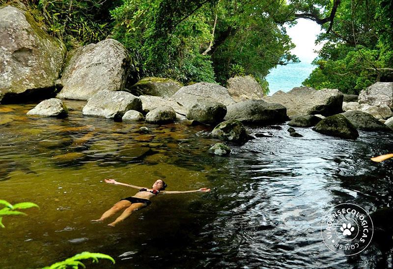 Cachoeira da Laje - Praia do Bonete em Ilhabela