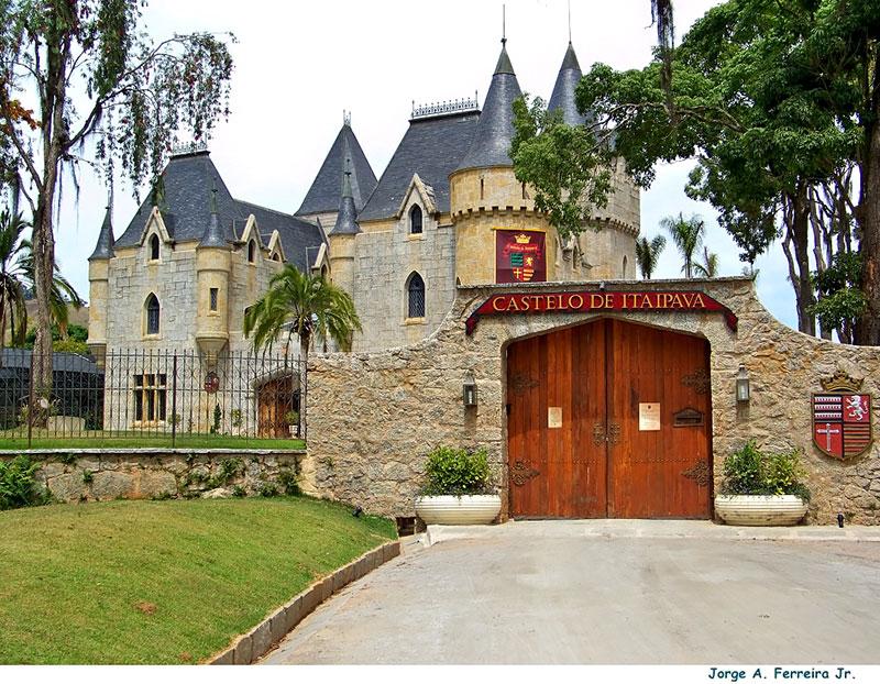 Castelo de Itaipava em Petrópolis - RJ