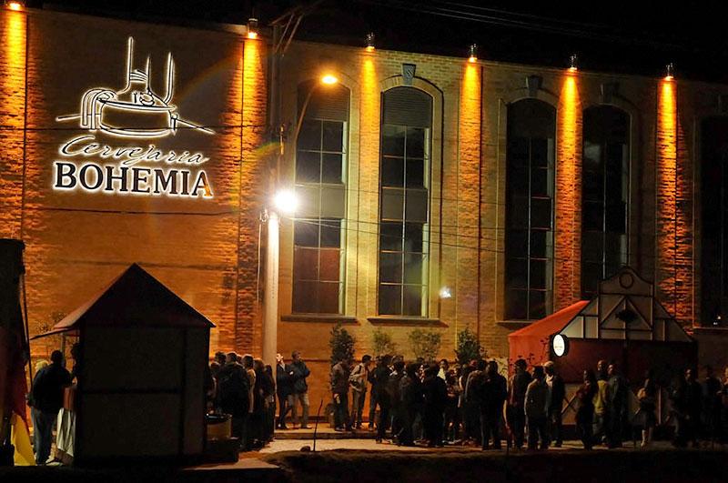 Cervejaria Bohemia em Petrópolis - RJ