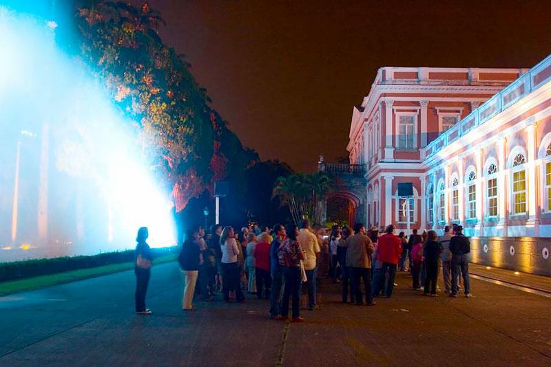 Espetáculo no Museu Imperial em Petrópolis - RJ