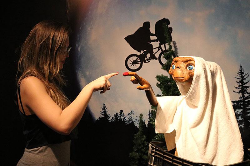 ET no Museu de Cera em Petrópolis