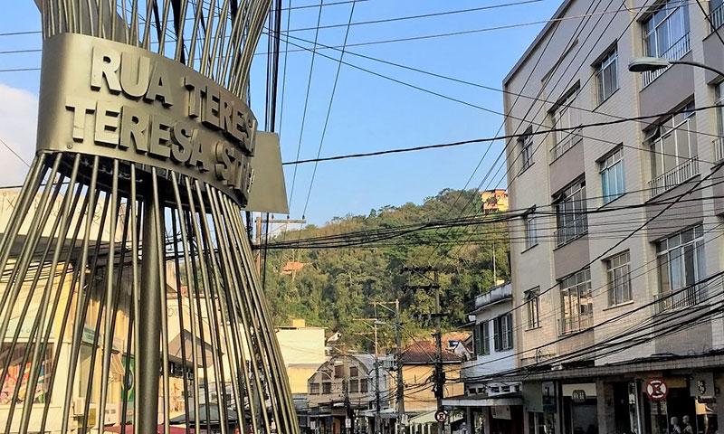 Lojas da Rua Teresa em Petrópolis