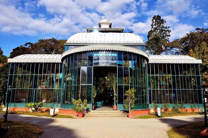 Palácio de Cristal em Petrópoils - RJ