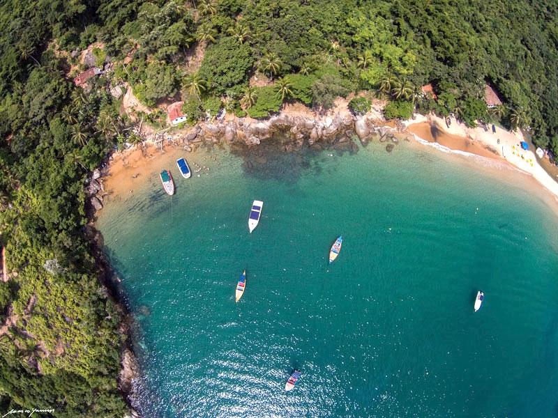Praia da Fome em Ilhabela - SP