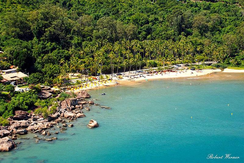 Praia da Pedra do Sino em Ilhabela - SP