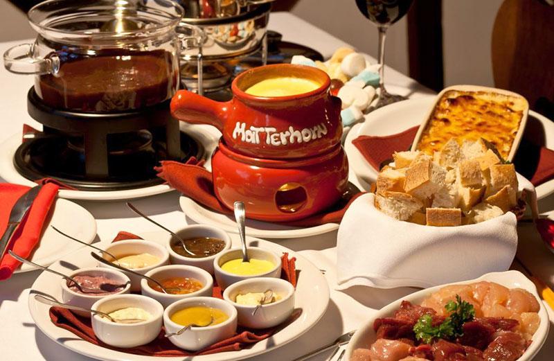 Festival de Foundue - Restaurante Matterhorn