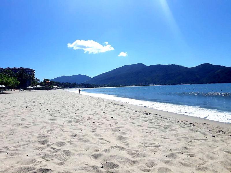 Praia da Tabatinga - Caraguatatuba - SP