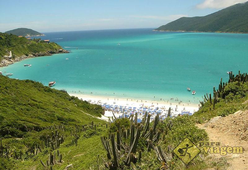 Praia do Forno - Buzios no Litoral Carioca