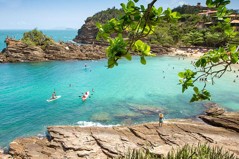 As mais praias mais bonitas de Búzios