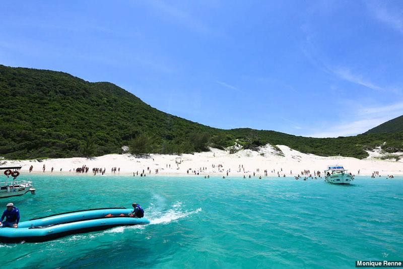 Praia do Farol em Arraial do Cabo - RJ