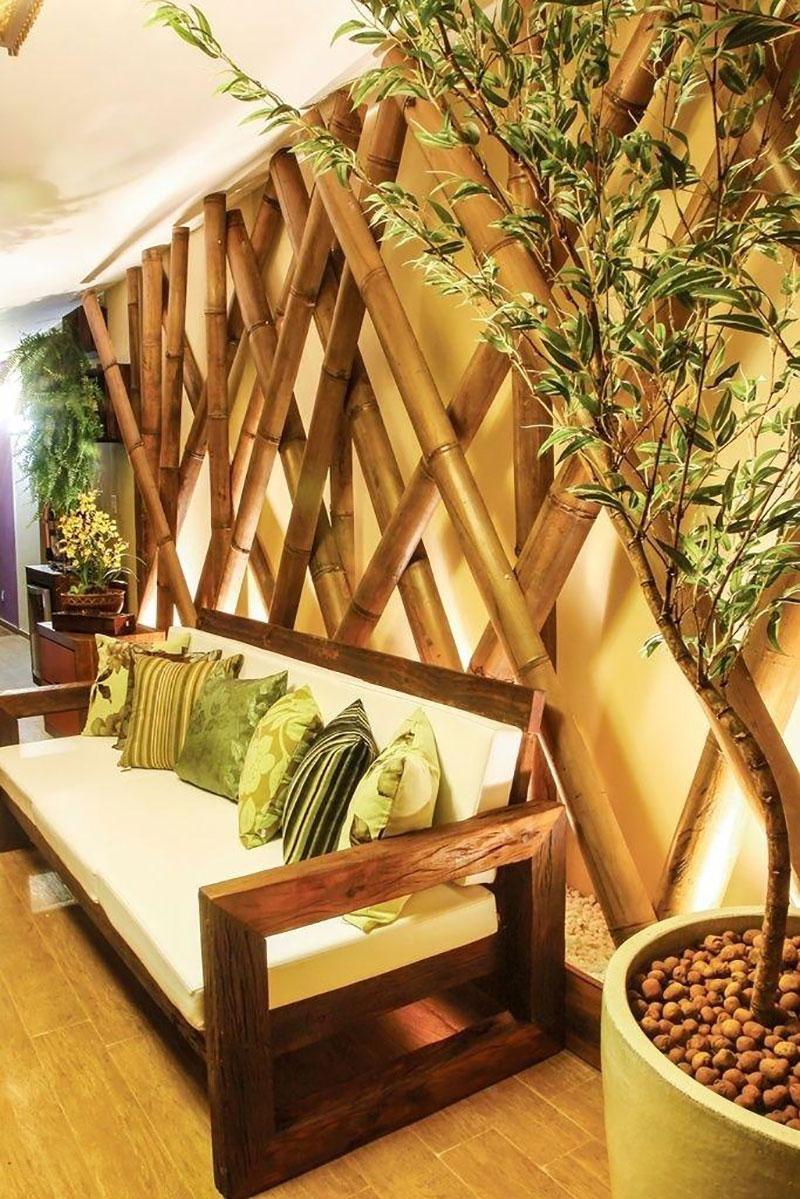 Formas de Utilizar Bambu na Decoração