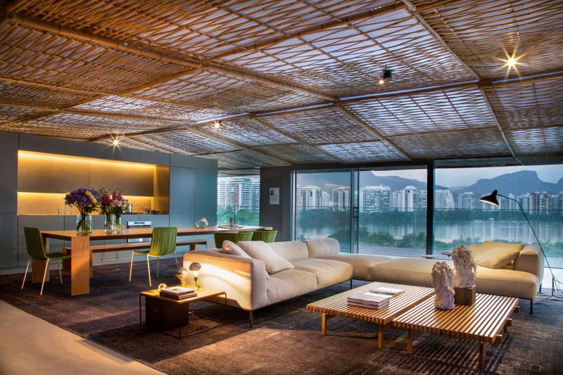 Decoração de Bambu para ambientes