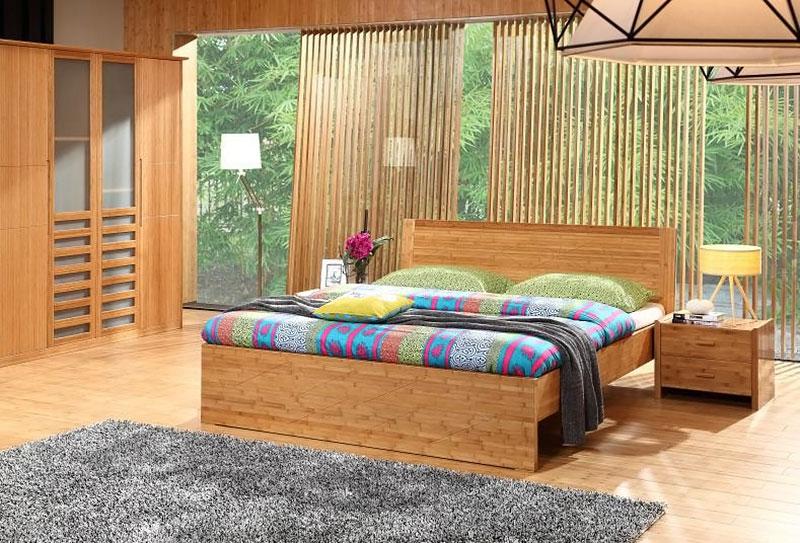 Móveis decorados com Bambu