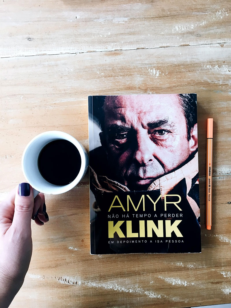 Livro de Amyr Klink