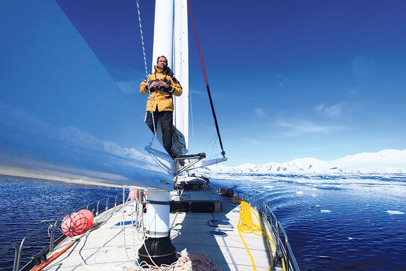 Navegador Amyr Klink