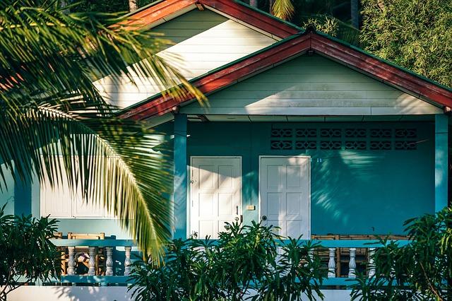 Casa de praia simples