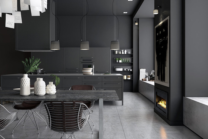 Cozinhas monocromáticas são tendência de decoração